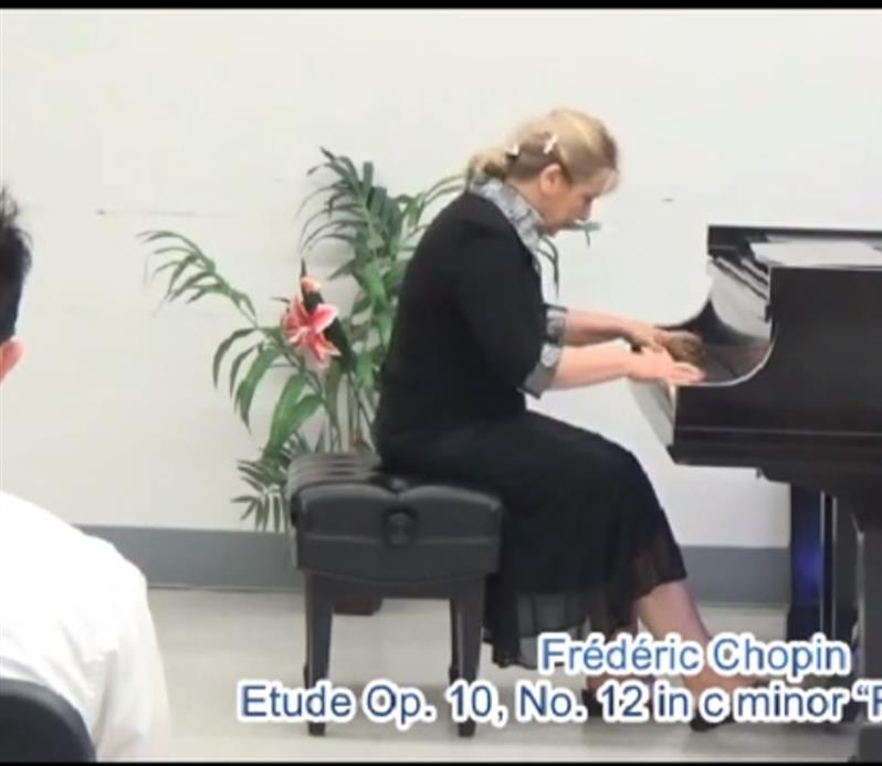 "Performed at the ""Polished Pianist"" piano recital , June 2015 at SU; watch the video:  https://youtu.be/MCGYLjtJ74s"