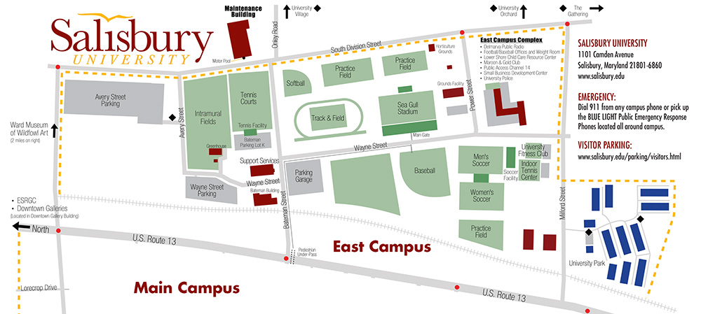 Athletic & Recreational Facilities | Salisbury University