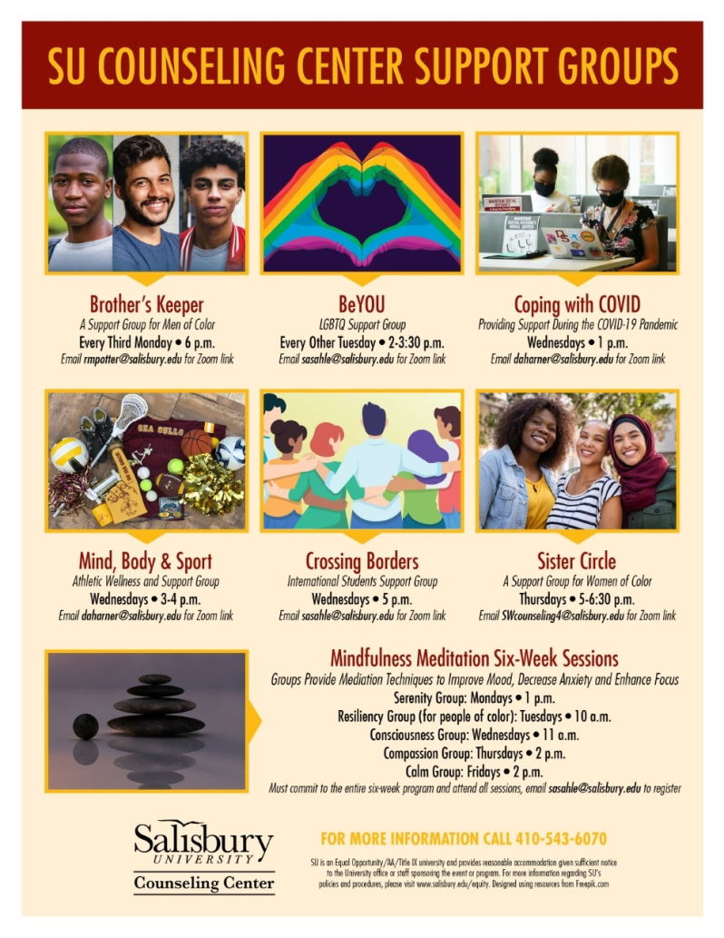 SU Support Groups Flyer