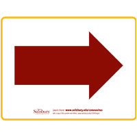Arrow Right Safety Signage Thumbnail