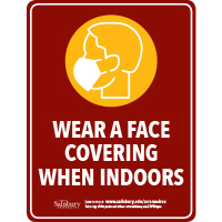 Face Covering Safety Signage Thumbnail