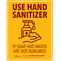 Hand Sanitizer rate Safety Signage Thumbnail