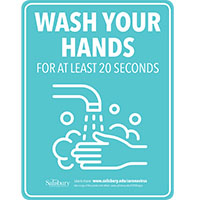 Wash Hands rate Safety Signage Thumbnail