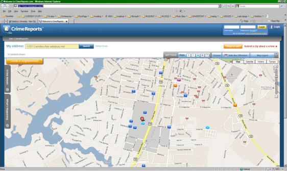 CrimeReports.com | Salisbury University